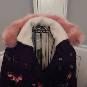 Kate Spade Broome Street Embroidered Twill Coat